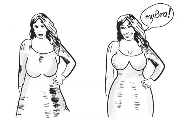 Duży biust - w źle i dobrze dobranym staniku